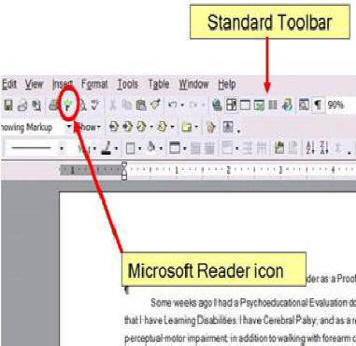 Proofreading in word